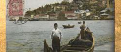 Üsküdar Paşalimanı beach and fishermen